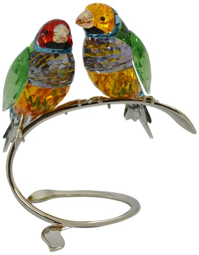 Colorful Crystal Birds