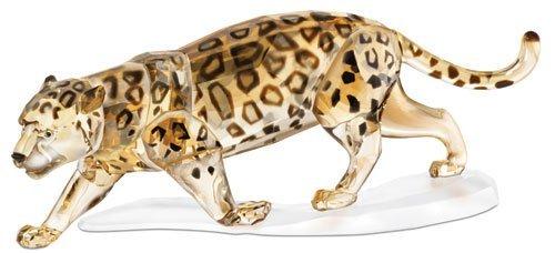 Swarovski Crystal Jaguar Figurine