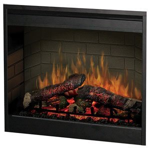 Realistic Artificial Fireplace