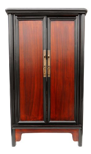 Traditional Chinese Ming Style Splayed Cabinet