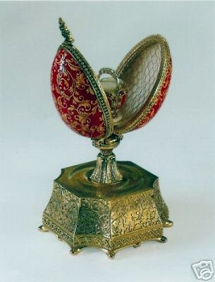 Faberge Egg Shaped Boxes