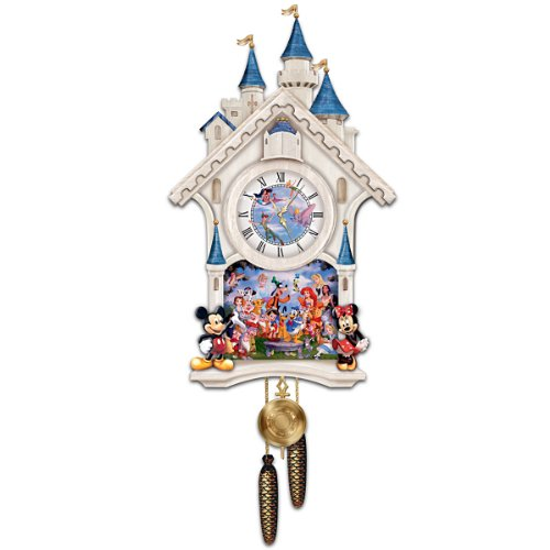 Cute Disney Characters Cuckoo Clock