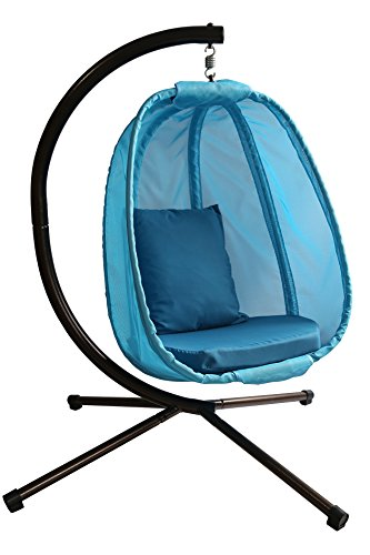 Hanging Egg Chair, Blue