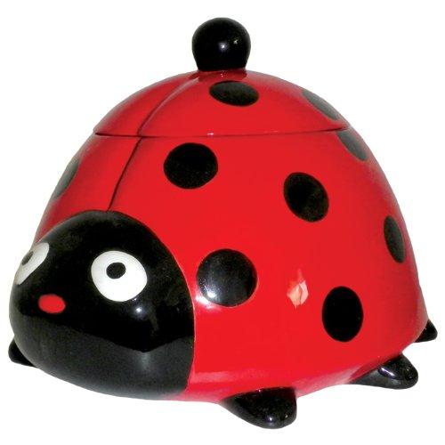 Cute Ladybug Cookie Jar