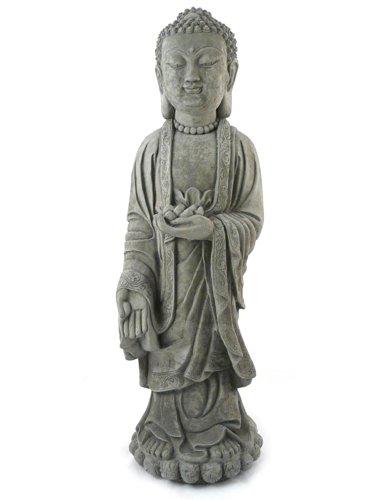 Serene Siddhartha Gautama Standing Statue