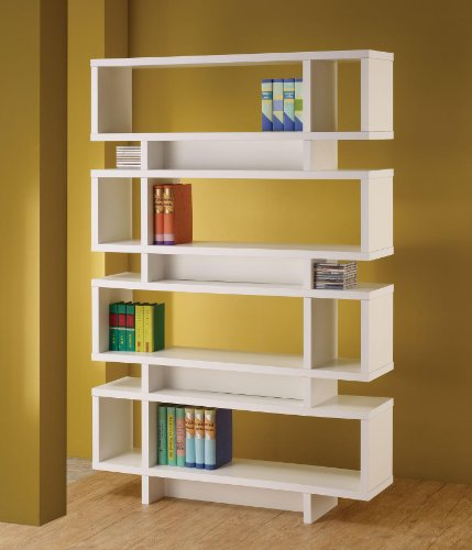 Cute White Bookcase