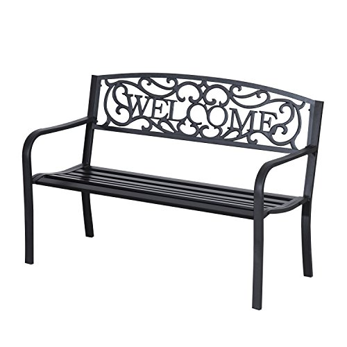 Welcome Metal Bench
