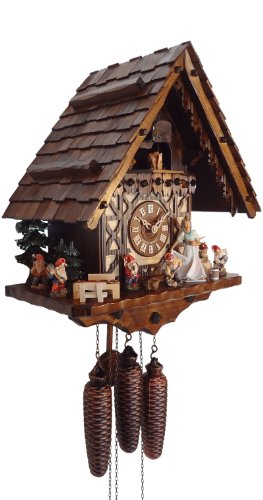Cute Snow White Cuckoo Clock