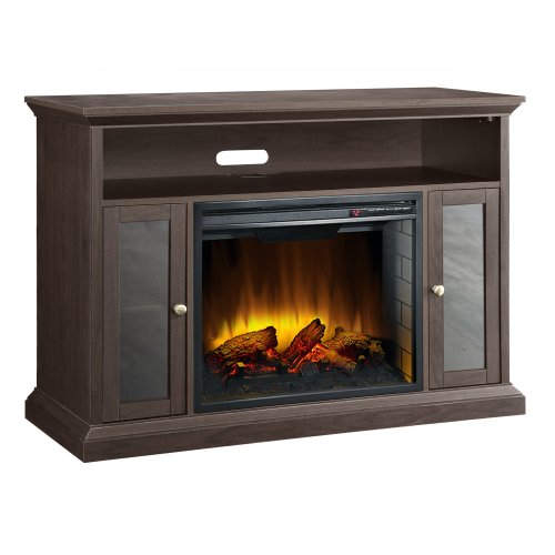 Electric Fireplace with Realistic Looking Flames