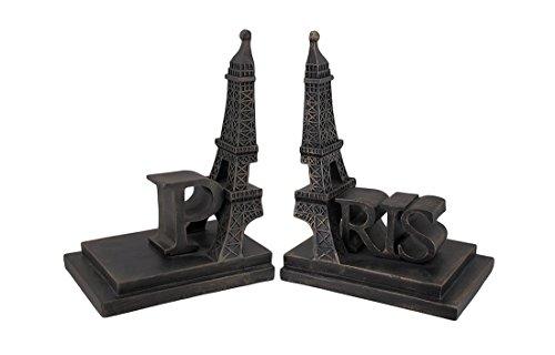 Antique Bronze Finish Eiffel Tower In Paris