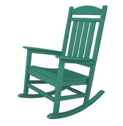 Colorful Plastic Rocking Chairs