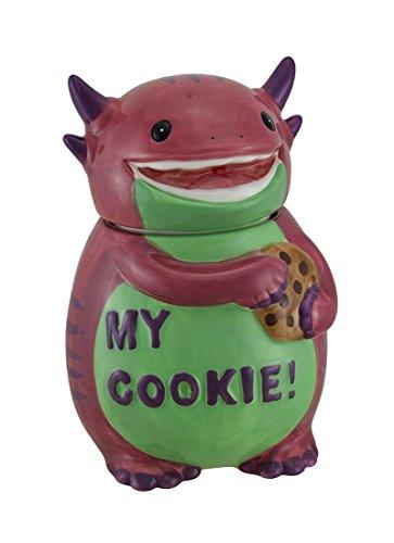 Funny Pink Monster Cookie Jar