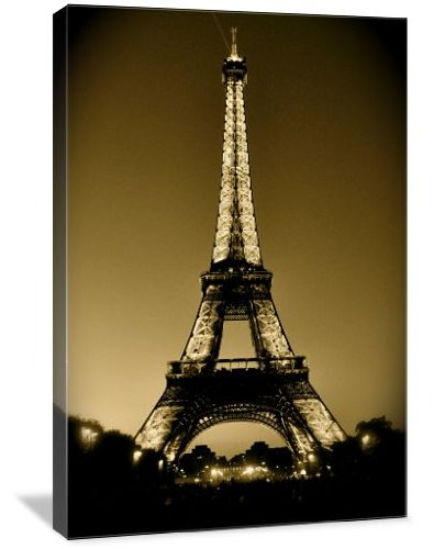 Eiffel Tower at Sunset Print