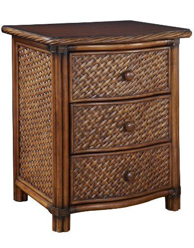 Beautiful Rattan Nightstand