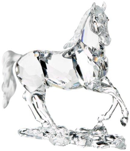 Clear Swarovski Crystal Stallion Horse Figurine