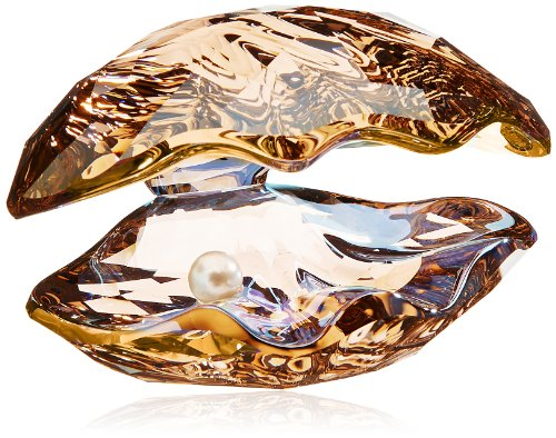 Swarovski Crystal Oyster Shell with Pearl