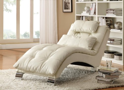 Gorgeous Indoor Chaise in Classy White