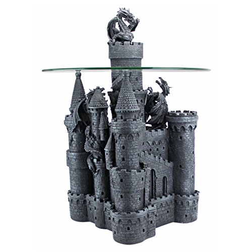 Castle and Dragons Accent Table