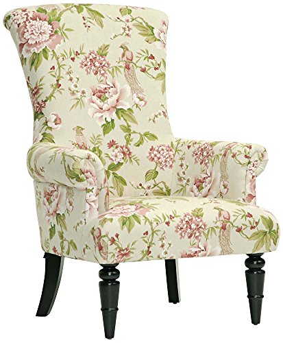 Cute Pink Floral Chair