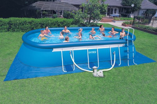 Huge Inflatable Above Ground Oval Pool