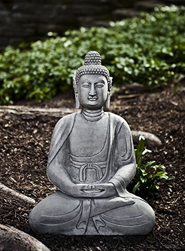 Seated Buddha Garden Sculpture