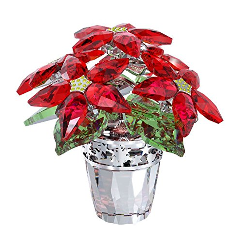 Swarovski Crystal Large Poinsettia Figurine