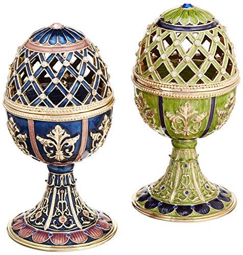 Faberge-Style Enameled Eggs