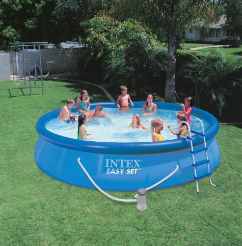 "INTEX 15' x 36"" Easy Set Swimming Pool Kit"