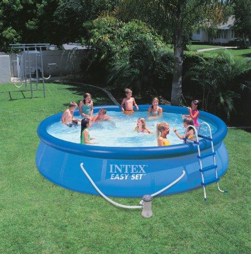 "INTEX 15' x 36"" Easy Set Swimming Pool Kit"