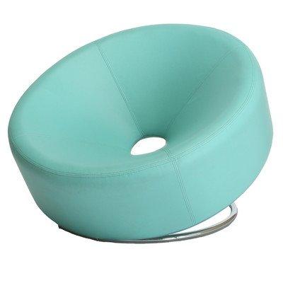 Modern Round Chair, Blue
