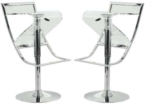 Transparent Clear Acrylic Bar Counter Stools
