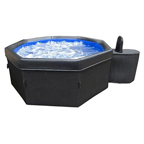 Light Wicker Portable Spa