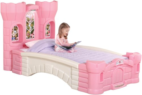 Cute Princess Palace Twin Bed