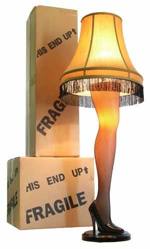 Leg Shape Lamp