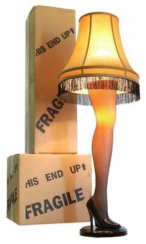 Leg Shape Lamp