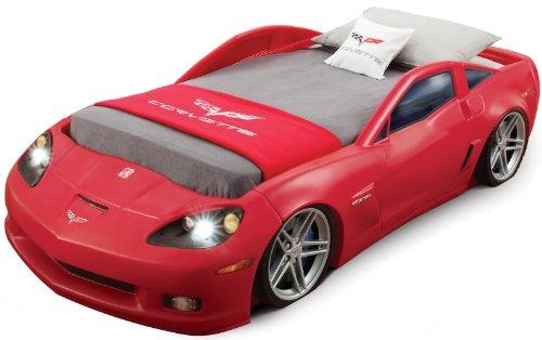 Coolest Red Corvette Car Bed for Kids