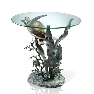 Sea Turtle End Table