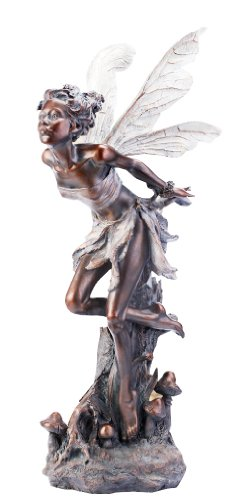 Kissing Fairy Garden Statue