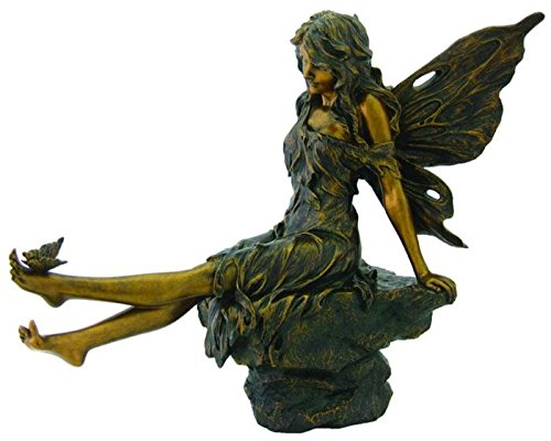 Cute Bronze Fairy Figurine