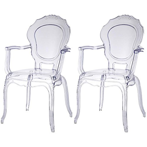 Artistic Design Transparent Chairs