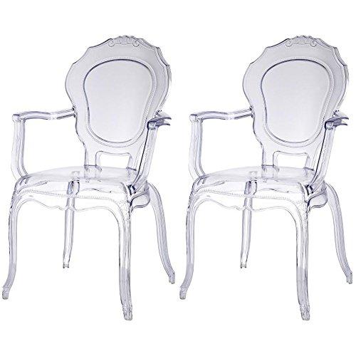 Artistic Design Transparent Chairs