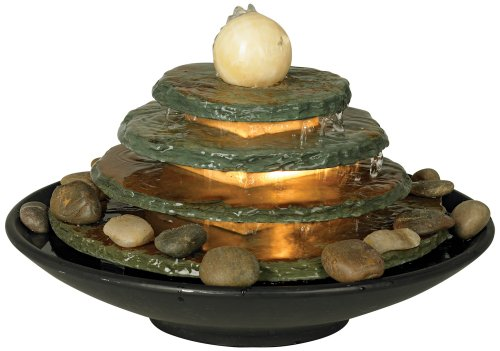 Cute Indoor Tabletop Lighted Water Fountain for Sale