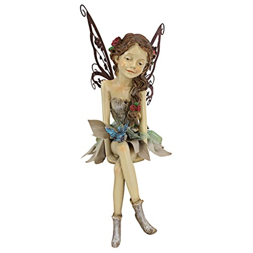 Pretty Fairy Sitting Statue
