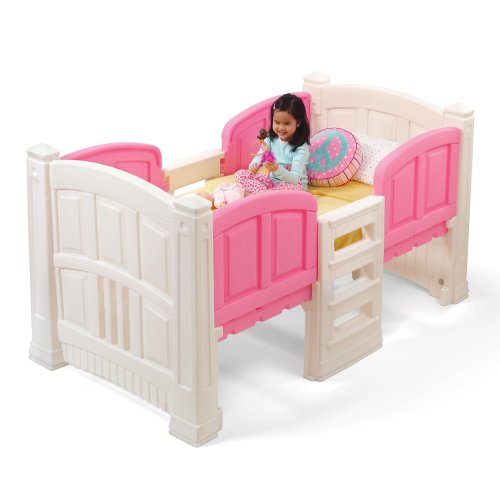 Beautiful Pink Bed for Girls with Storage