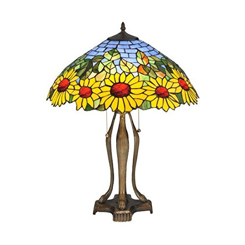 Pretty Sunflowers Table Lamp