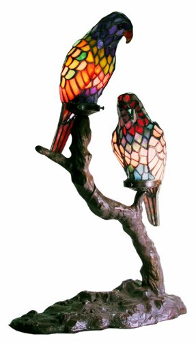 Exotic Birds Accent Lamp