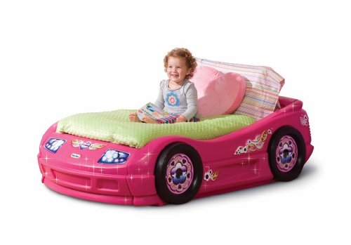 Pink Toddler Roadster Bed