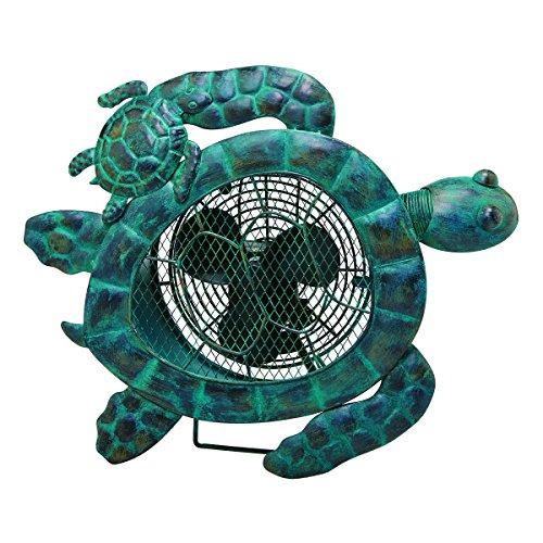 Cute Sea Turtles Metal Fan