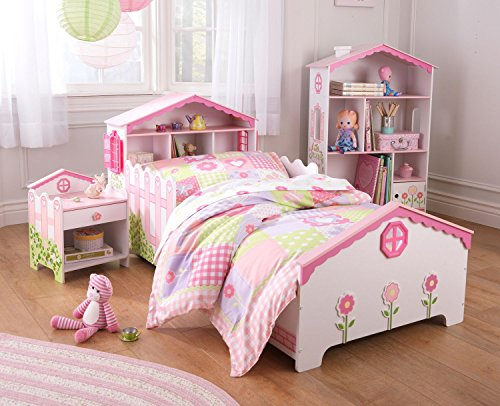 Cute Dollhouse Toddler Bed