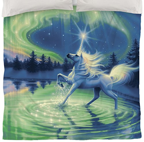 Majestic Night Unicorn Duvet Cover